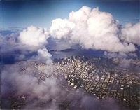 aerial view of san francisco by robert hartley cameron