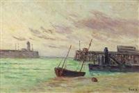 port bretagne by maximilien luce