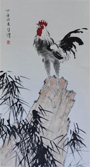 chicken by xu beihong