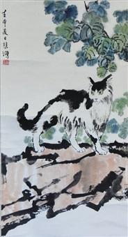 cat by xu beihong