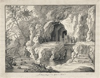 l'hermitage de frère luce by balthasar anton dunker
