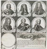 effigies romanorum imperatorum ex antiquis numismatibus, quae in thesauro christinae reginae adservantur delineatae... (portfolio of 166) by petrus aquila