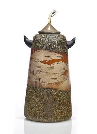 fish vase by hiroshi yamano