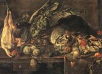 stilleben mit geflugel und federwild by alexander adriaenssen the younger