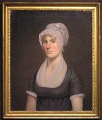 portrait of ann ballard nicholson by john trumbull