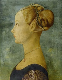 portrait einer jungen frau by piero pollaiuolo