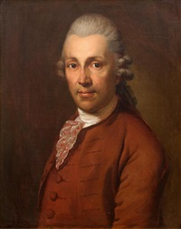 portrait of christian garve (1742-1798), at about the age of 30 by anton graff