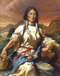 sacajawea by william harry (bill) ahrendt