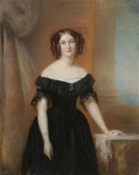 portrait d'adèle de seillon by firmin massot