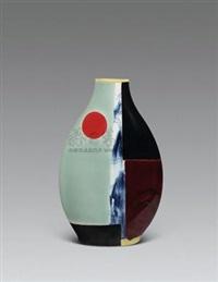 空间釉彩 (porcelain vase) by lin zhenlong