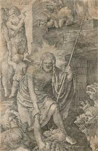 christus in der vorhölle by lucas van leyden