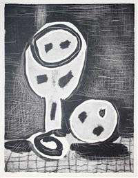 composition au verre à pied by pablo picasso
