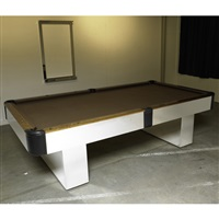custom billiards table by pace manufacturing (co.)