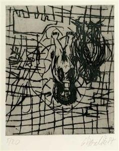 artwork by georg baselitz