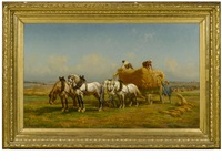 harvest time by charles coumont