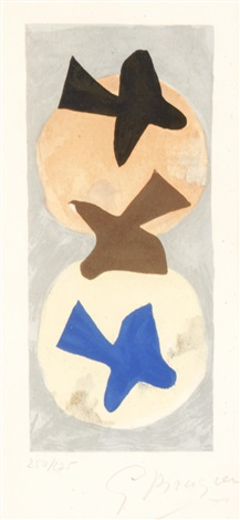 soleil et lune i by georges braque