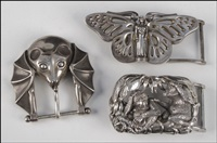 belt buckles (set of 3) by kieselstein-cord