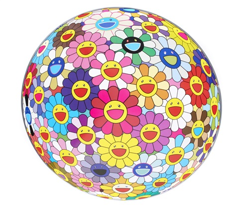 flowerball 3d flowerball pink flowerball cosmos 3 d 3 works by takashi murakami