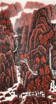 mountain by liu lin