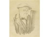 autoportrait by paul cézanne