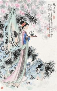 祝酒图 by gu bingxin
