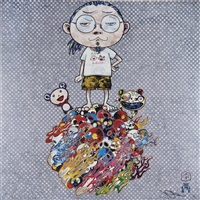 me and the mr. dobs by takashi murakami