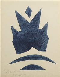 pl. 15, from si je mourais là-bas by georges braque