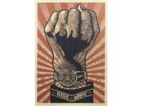 rise above by shepard fairey