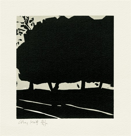 landscape by alex katz