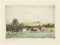 landschaften: weimar und umgebung (portfolio of 12) by alexander olbricht