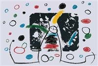 l'enfance d'ubu (3 works) by joan miró
