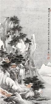 深山精舍 by qi dakui