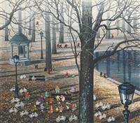 公园一景 (a view of the park) by hiro yamagata