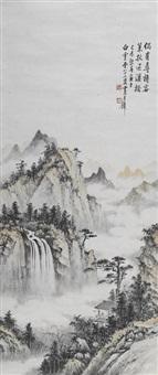 landscape, 1979 by huang junbi