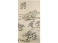 river landscape by gu yun