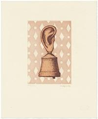 la leçon de musique (from signe de survie au temps d'amour) by rené magritte