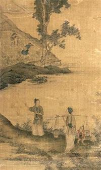 人物图 (figure) by xiao chen