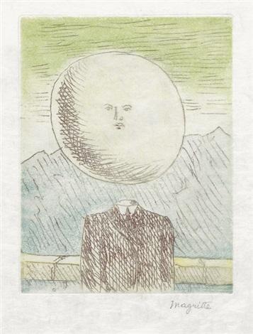 lart de vivre frontispiece for le lien de paille by rené magritte