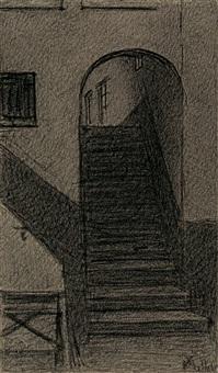 l'escalier by xavier mellery