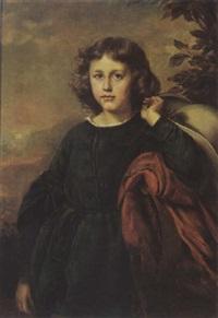 portrait of franz von mendelssohn by eduard magnus