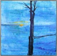 blå stilhed by steffen anker