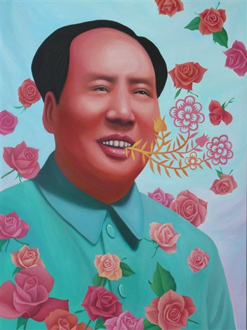 mao, welcome, welcome! by ren rong
