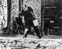 jackson pollock, 1950 by hans namuth