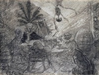 king pest by james ensor