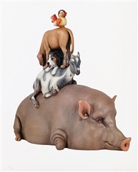 stacked by jeff koons