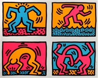 pop shop quad ii by keith haring