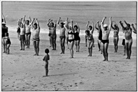 sylt, gym by elliott erwitt