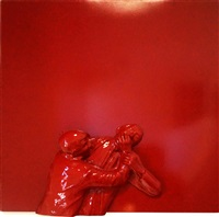 the silence (wall relief) by robert longo