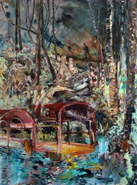 he went in the woods that day to bury fluffy by hernan bas