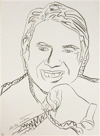 jimmy carter iii by andy warhol